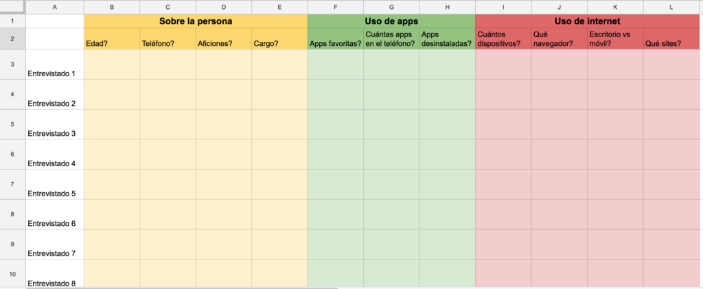 Excel topic map