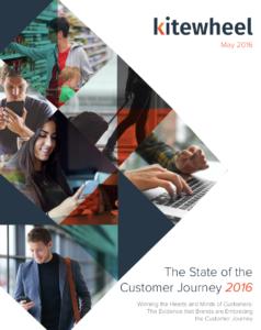Portada The State of the Customer Journey Kitewheel